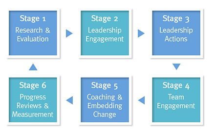 Employee Engagement Stages 1-6